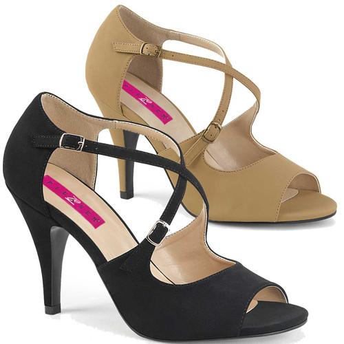 Plus Size Transgender Shoes Pink Label   Dream-412