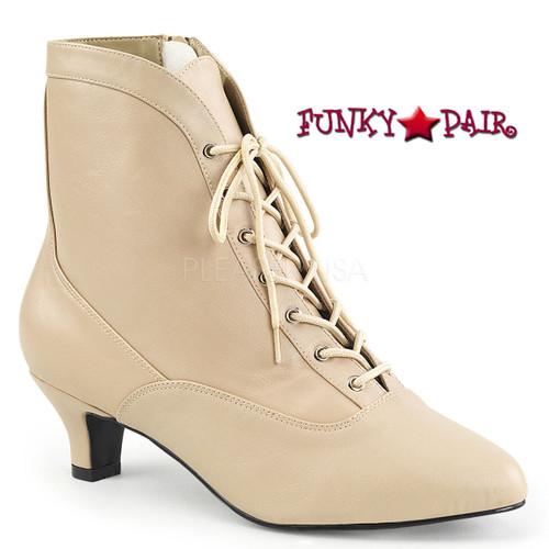Pink Label | Fab-1005 Crossdresser Boots Size 9-16 Color Cream
