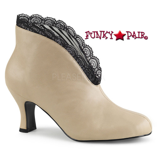 Jenna-105 color Cream by Pleaser Pink Label