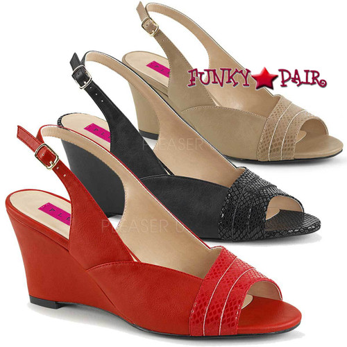 5228e3bf5f68 WIDE WIDTH DRESS SHOES - Large Size Women Shoes - Wide Wide High Heels