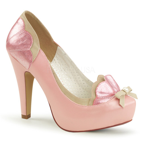 Bettie-20, Pump with Pearl Bow