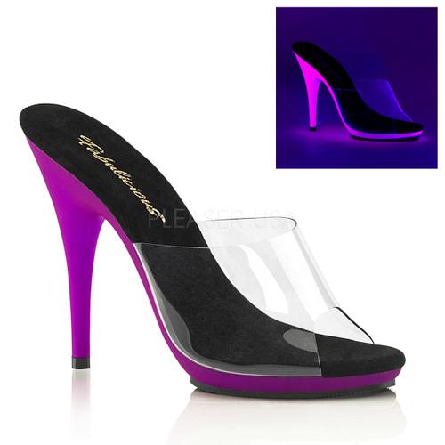 Poise-501UV, 5 Inch Heel Slide with UV Bottom