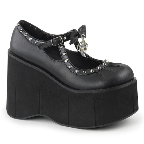 Skulls Platform MaryJane Demonia Shoes | Kera-14,