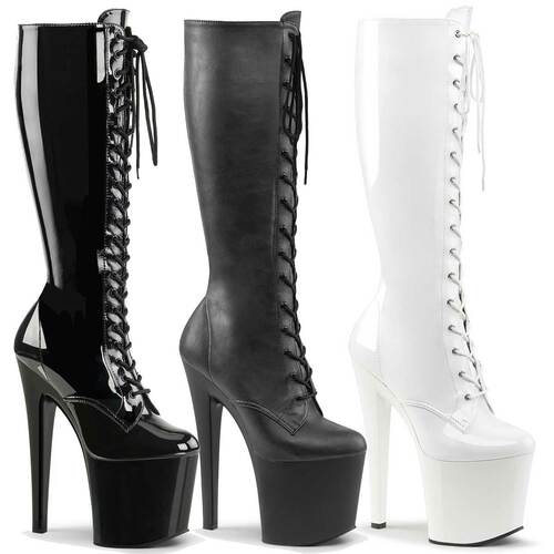 Taboo-2023, Exotic Dancer Knee High Boots | Pleaser