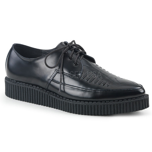 Creeper-712, 1.25 Pointed Toe Creeper Shoes