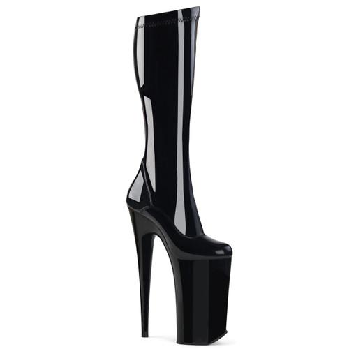 "10"" Xtreme Heel Knee High Boots | Pleaser Beyond-2000"
