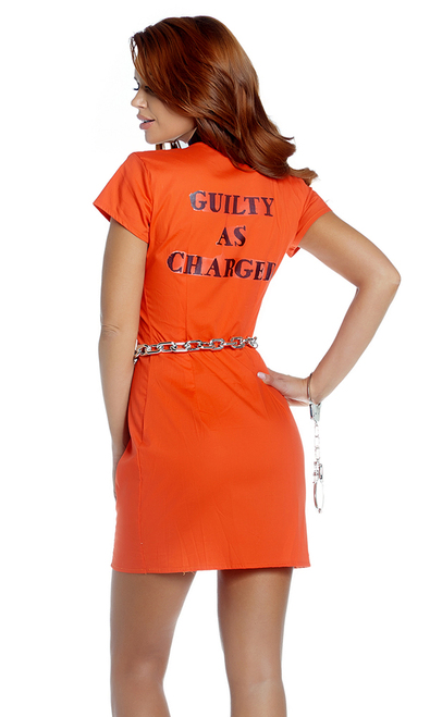 FP-557893, Guilty Glam Inmate Costume