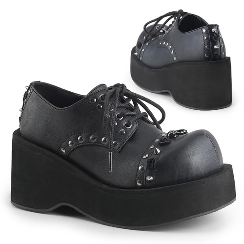 Spike Oxford Shoes Demonia | Dank-110