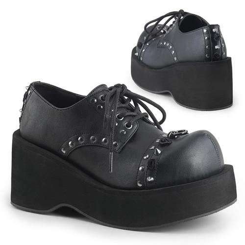 Spike Oxford Shoes Demonia | Dank-110