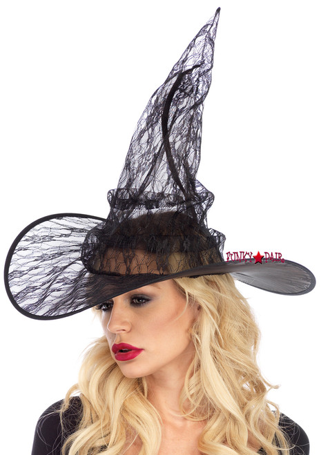 A2802, Lace Witch Hat