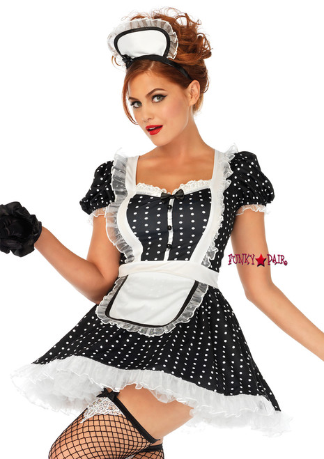 Cleared black french maid mature something is