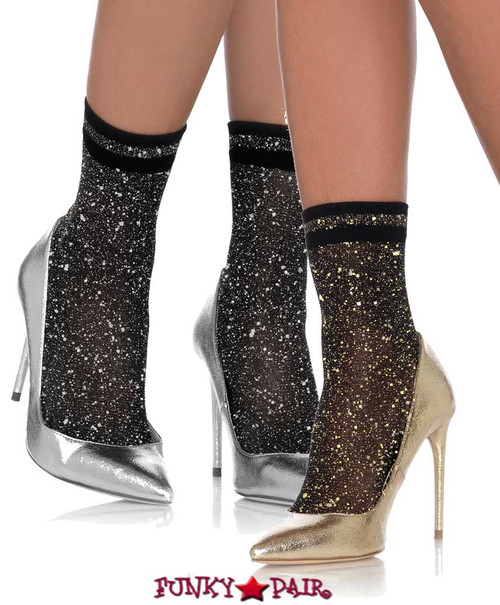 58ce885e5aa KNEE HIGH SOCKS - Lace Ruffle Nylon Anklet - Striped Knee High Stockings