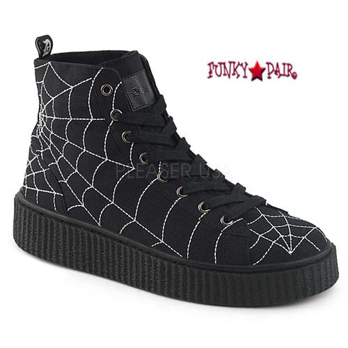 5f8de5bb46a Creeper Shoes - Men Gothic Shoes - Men Alternative Shoes