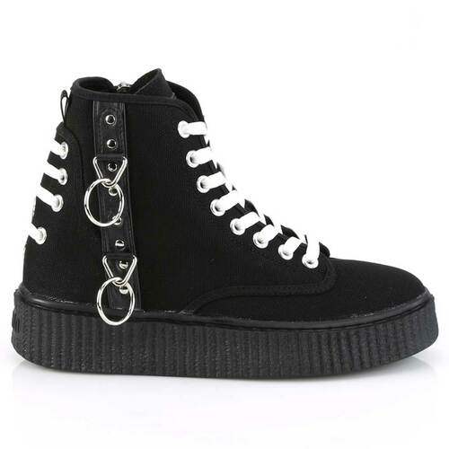 Demonia | Men's Creeper Sneeker-256 Side View