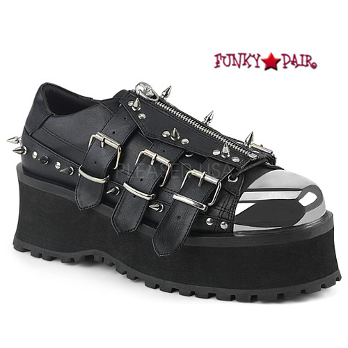 e7968a5d85 Creeper Shoes - Men Gothic Shoes - Men Alternative Shoes