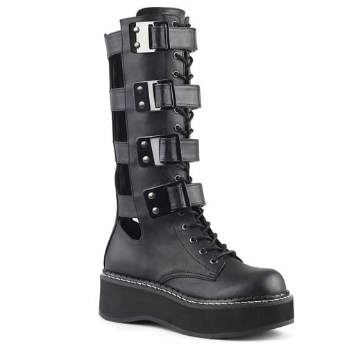 Women's Demonia Emily-359, Platform Knee High Boots