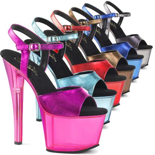 Pleaser Sky-309MT Tinted Platform Stripper Shoes
