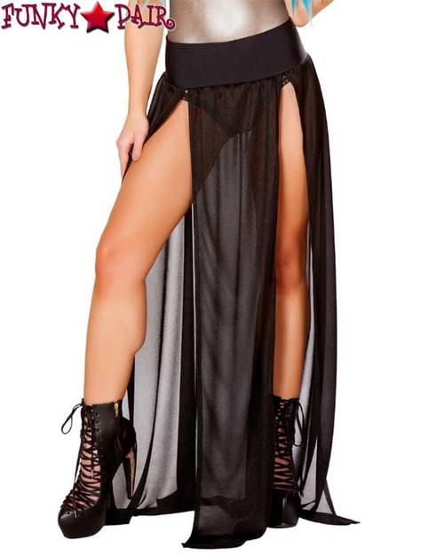 JV-FF470 Gypsy Skirt color Black by J. Valentine