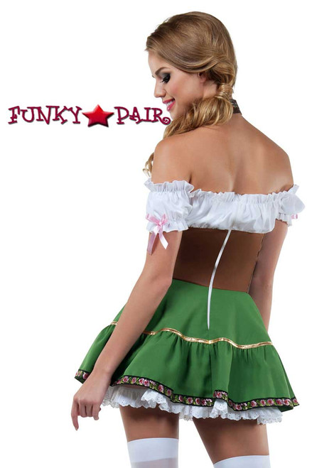 Starline Costume | S8030, Beer Girl Back View