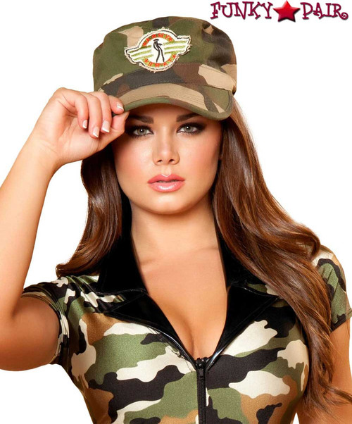 Roma | R-H108, Army Hat Costume Accessories
