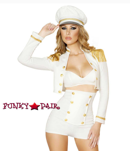 Roma Costume | R-4521, Sultry Sailor Babe Close up view