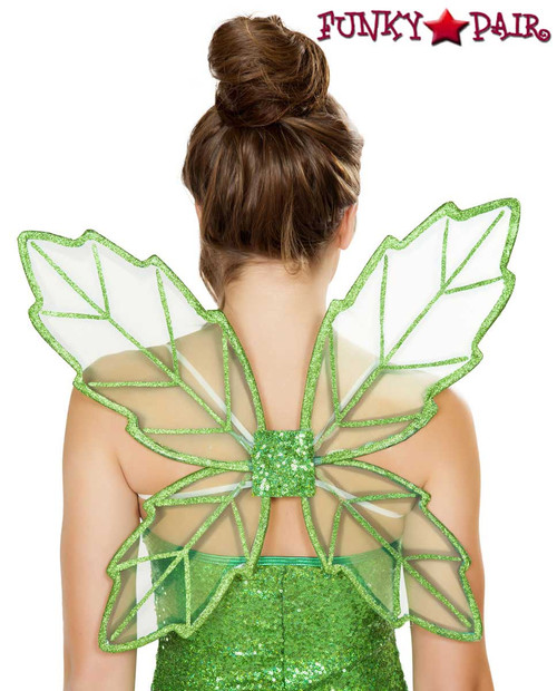 Green Fairy Wings Roma Costume Accessories R-4728