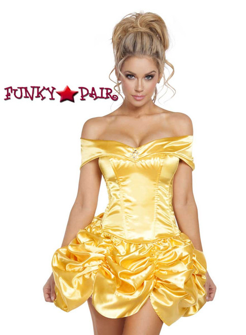 Gold Fairytale Roma Costume | R-4612