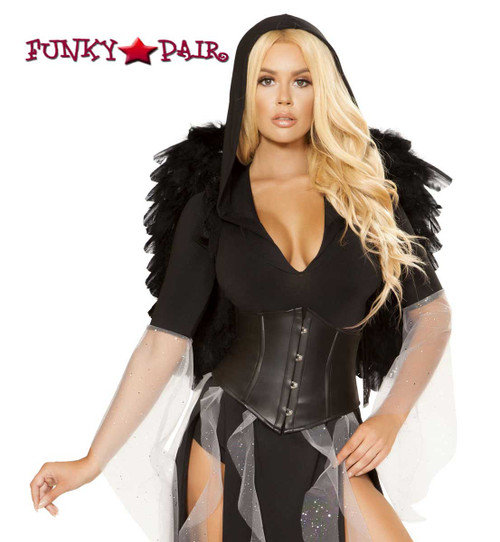 Midnight Angel Romper Roma Costume   R-4867