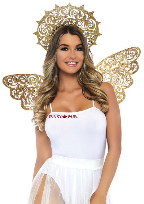 Golden Angel Costume Kit   Leg Avenue LA-2823