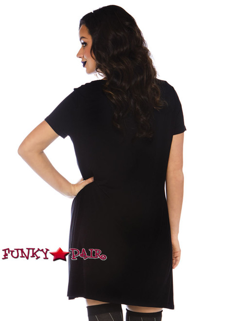 Leg Avenue | LA-86770, Undead Jersey Dress Costume back view