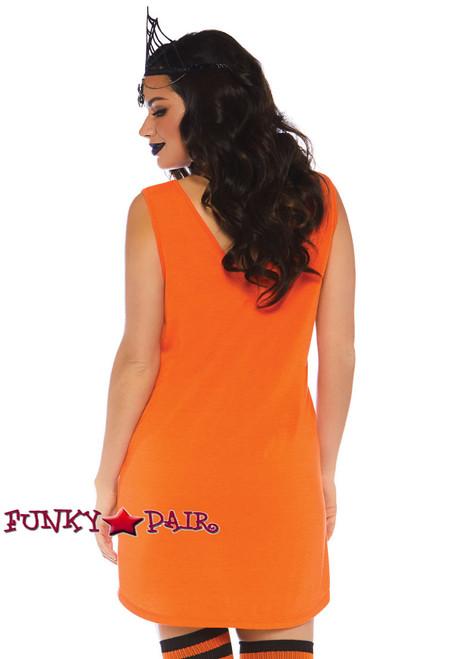 Halloqueen Jersey Dress Costume | Leg Avenue LA-86769 back view