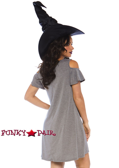 Witch Jersey Dress Costume | Leg Avenue LA-86767 back view