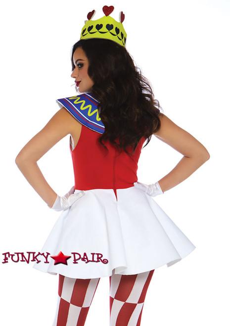 Leg Avenue   LA-86722, Card Queen Costume back view