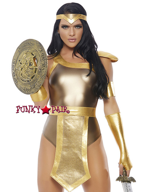 Sexy Gladiator Romper Costume   ForPlay FP-558718