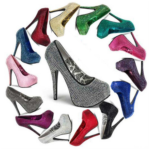 ec73e4922c7f7f BORDELLO SHOES   Rhinestone Pumps -Teeze Shoes