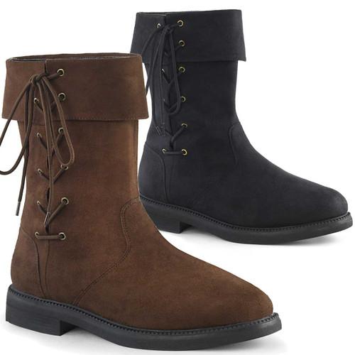 Men's Renaissance Cuff Boots | Funtasma ROMLOCK-220