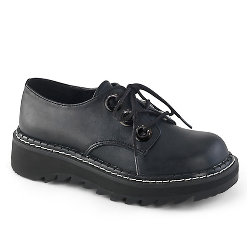 Lilith-99, Platform Oxford Shoes Women's Demonia