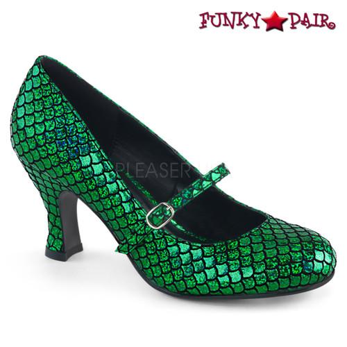 Funtasma   Mermaid-70, Mermaid Mary Jane color Green