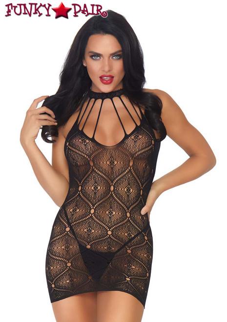 Leg Avenue | LA86801, Moroccan Lace Mini Dress