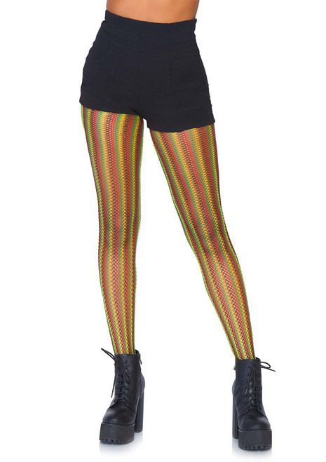 98032336606 TIGHTS AND LEGGINGS - Opaque Footless Tights - Fishnet Tights