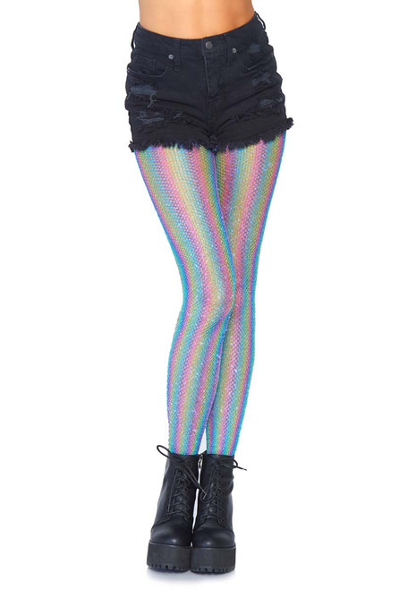 4d04f17f9 TIGHTS AND LEGGINGS - Opaque Footless Tights - Fishnet Tights