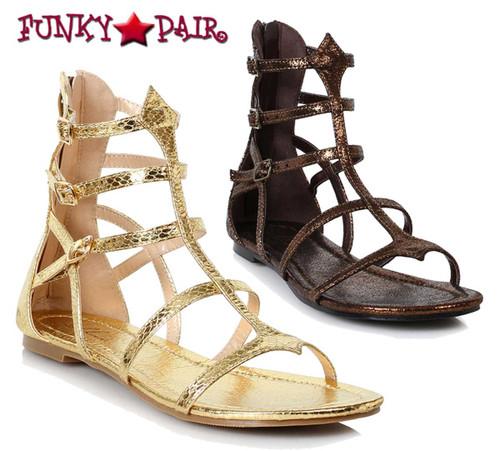 Ellie Shoes 015-Athena Women Flat Gladiator Sandal
