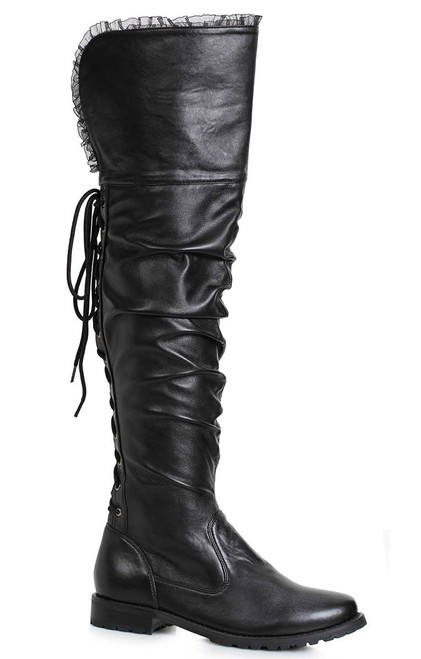 Scrunch Over-the Knee Boots | Ellie Shoes 181-Tyra