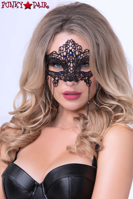 STM-40180, Crotchet Lace Eye Mask