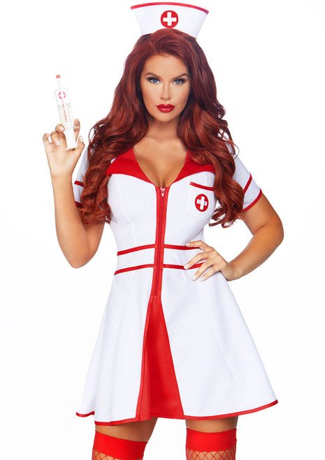 Hospital Honey Nurse Costume by Leg Avenue LA-86840