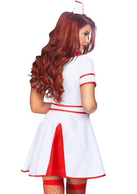 Leg Avenue LA-86840, Hospital Honey Nurse Costume Back View