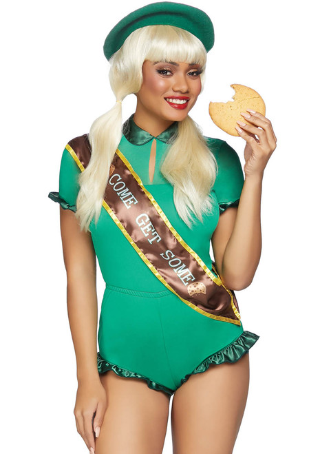Leg Avenue LA-86853, Women's Cookie Scout Costume