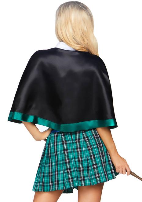 LA-86810, Women's Sinister Spellcaster Costume by Leg Avenue Back View