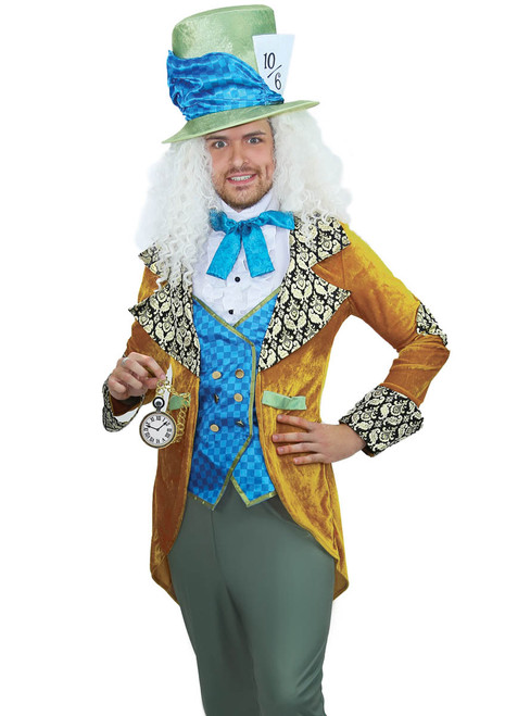 Men's Classic Mad Hatter Costume by Leg Avenue LA-86875