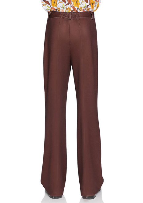 LA-86876, Men's Bell Bottom Pants by Leg Avenue Back View